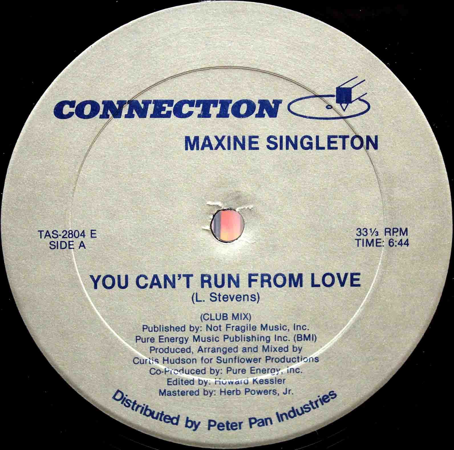 Maxine Singleton ‎– You Cant Run From Love 03