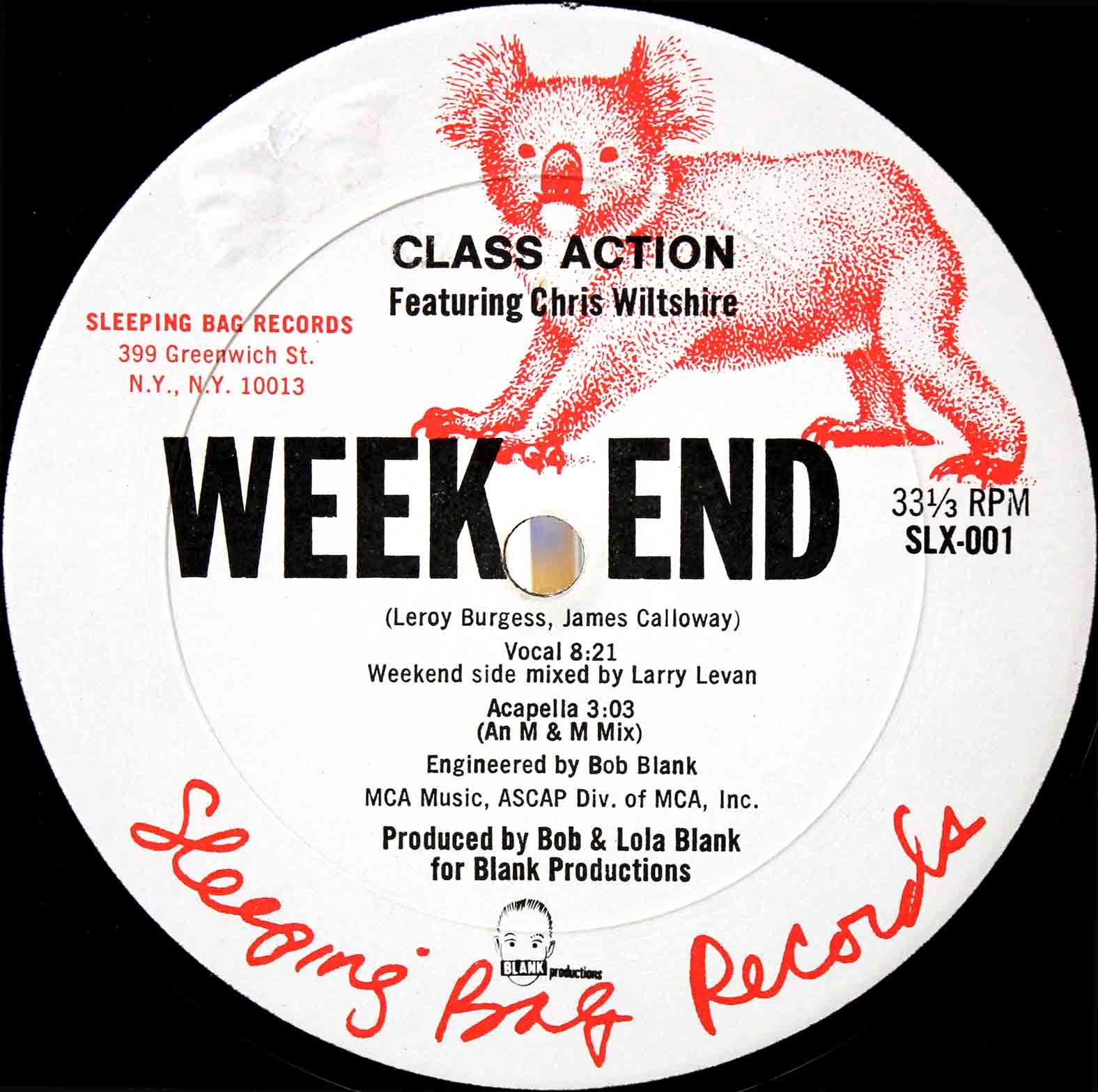 Class Action - Weekend 03