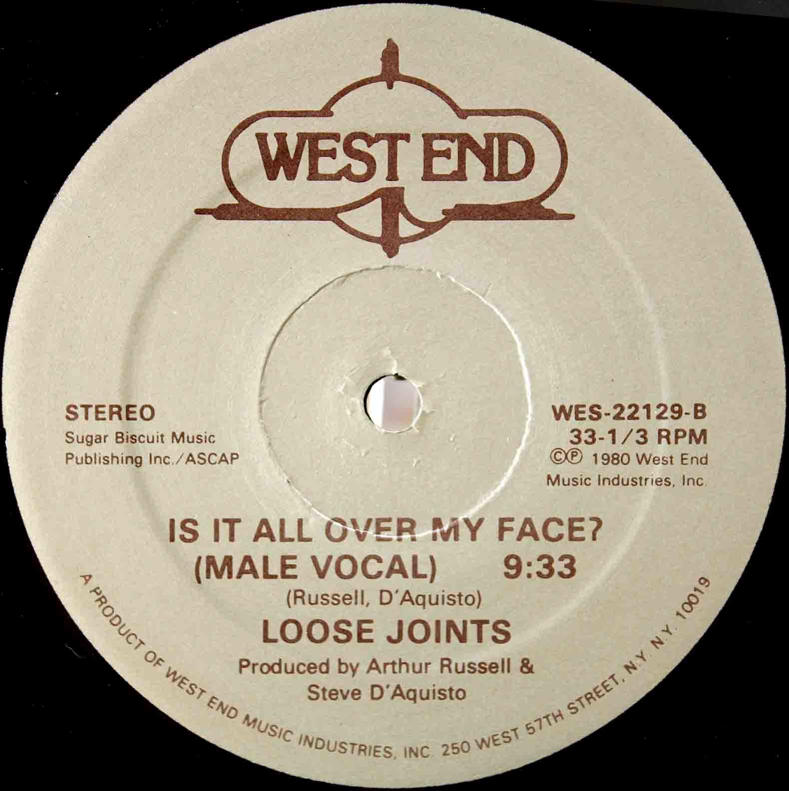 Loose Joints – Is It All Over My Face 04