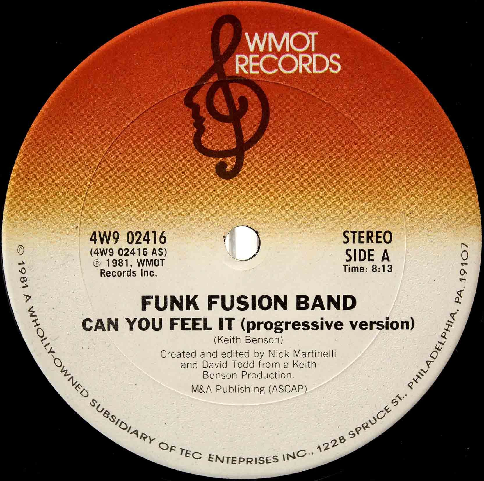 Funk Fusion Band - Can You Feel It 03