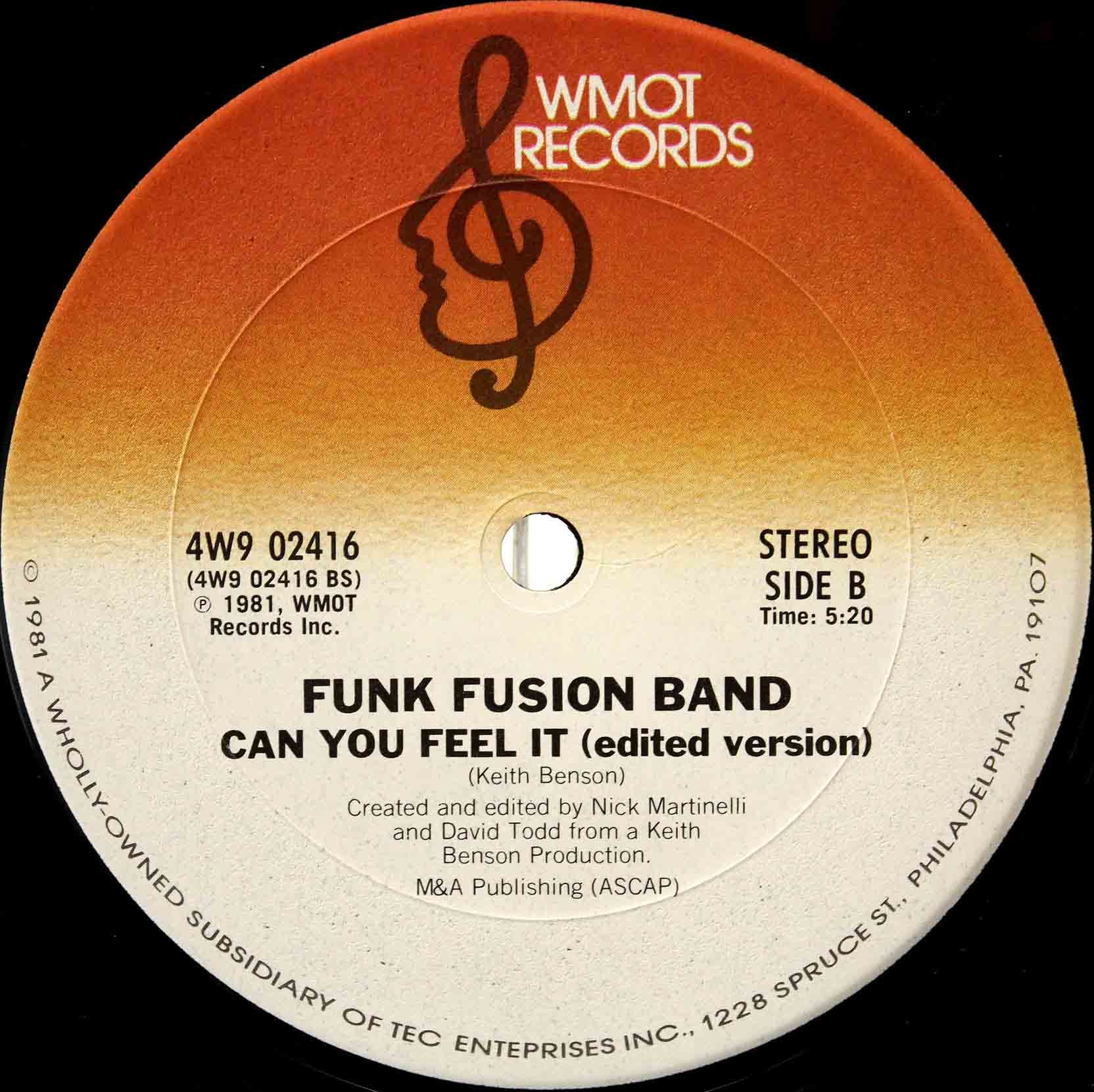 Funk Fusion Band - Can You Feel It 04