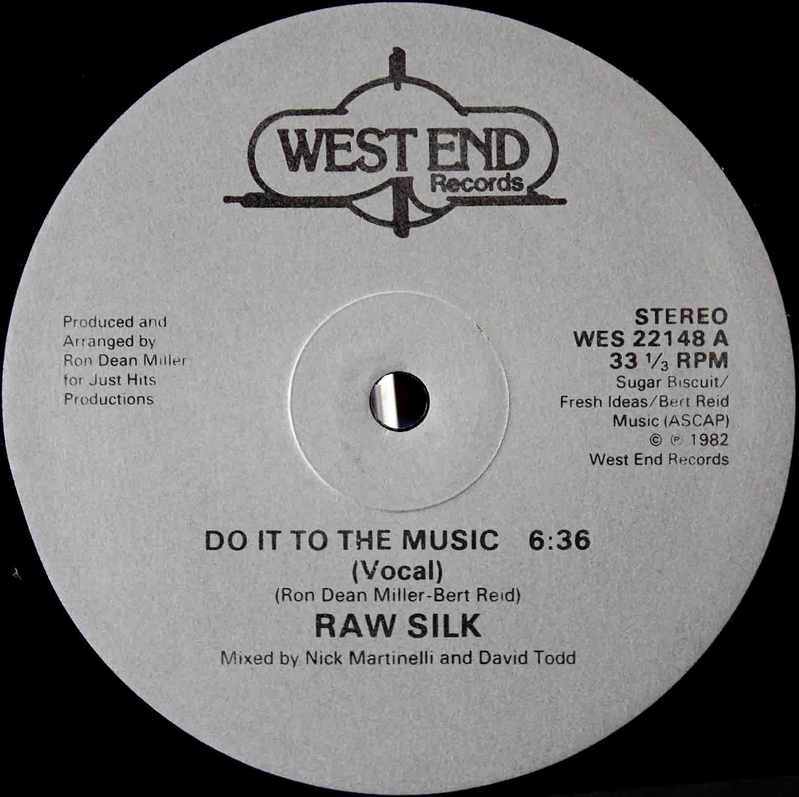 Raw Silk ‎– Do It To The Music 03