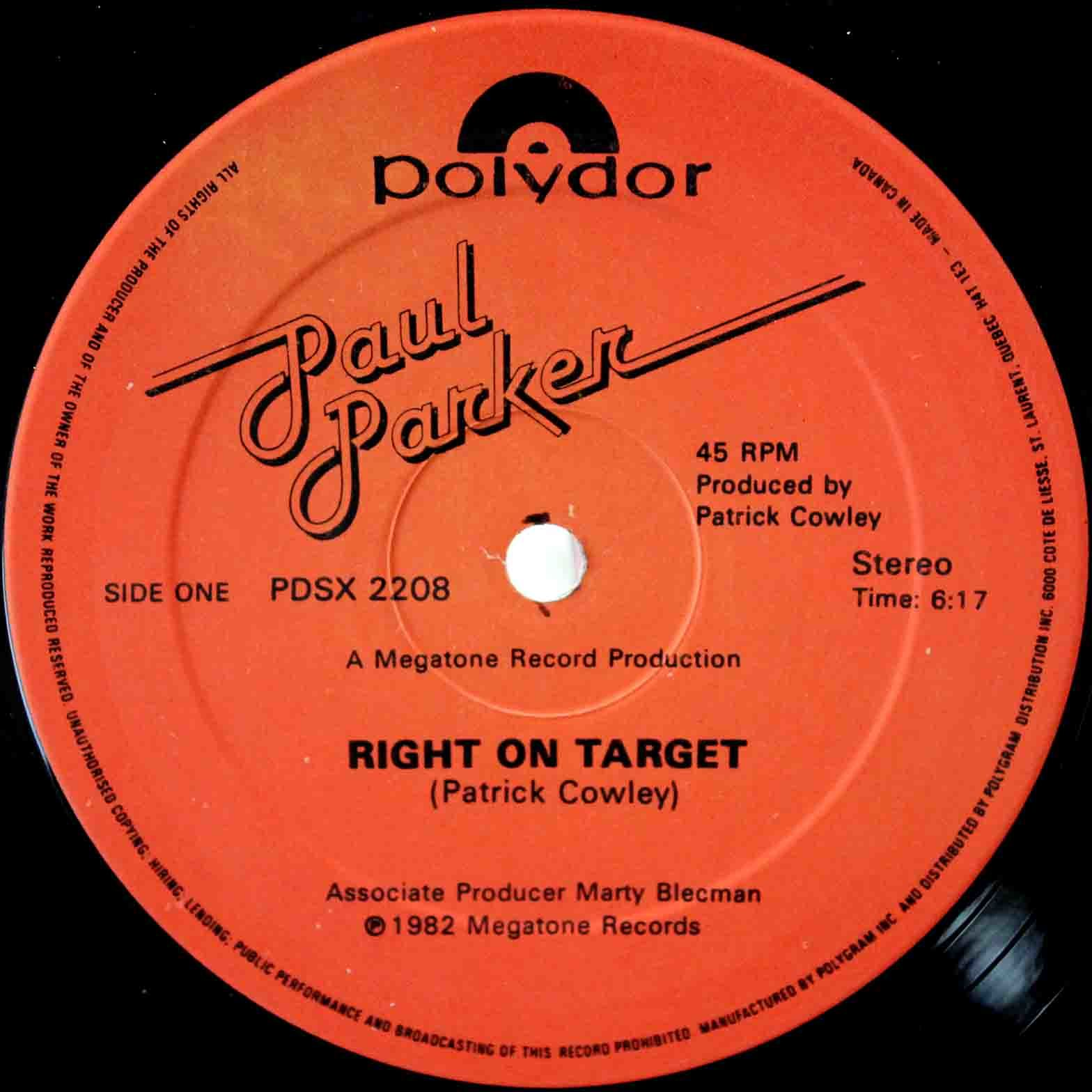 Paul Parker – Right On Target 03