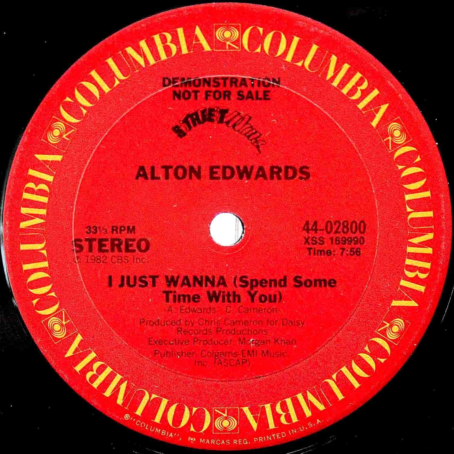 Alton Edwards  I Just Wanna 02