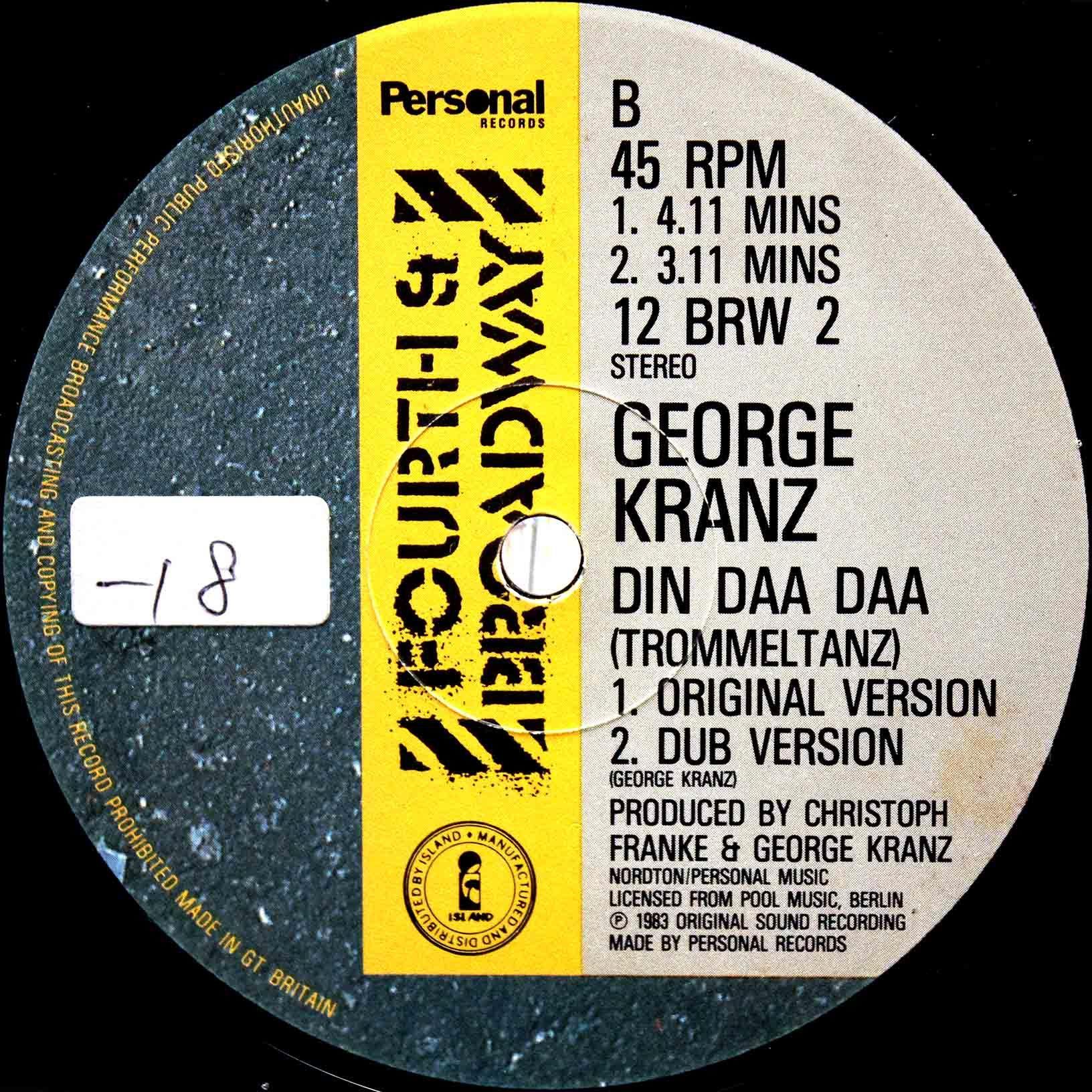 George Kranz – Din Daa Daa 04
