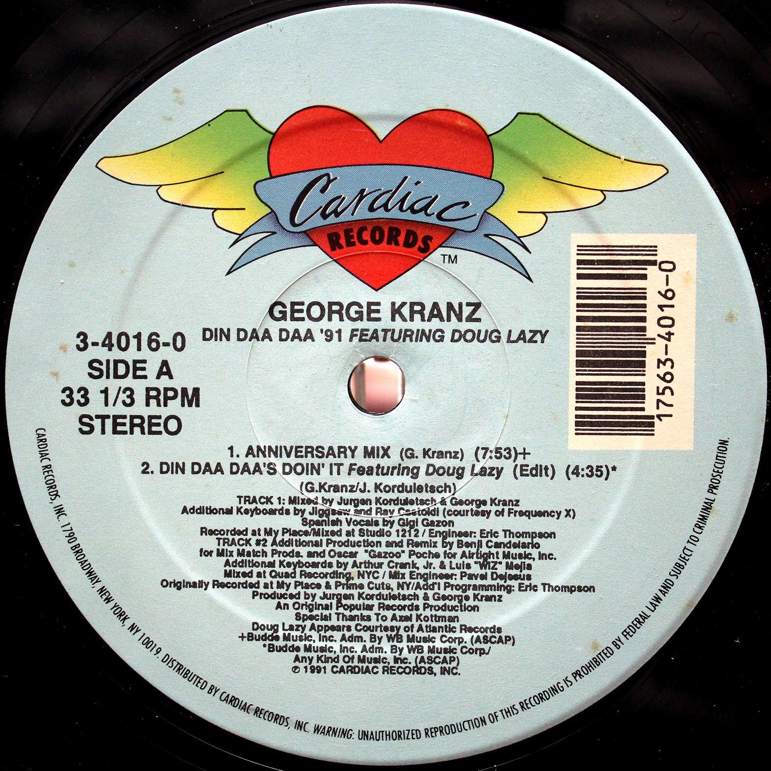 GEORGE KRANZ Din Da Da 05