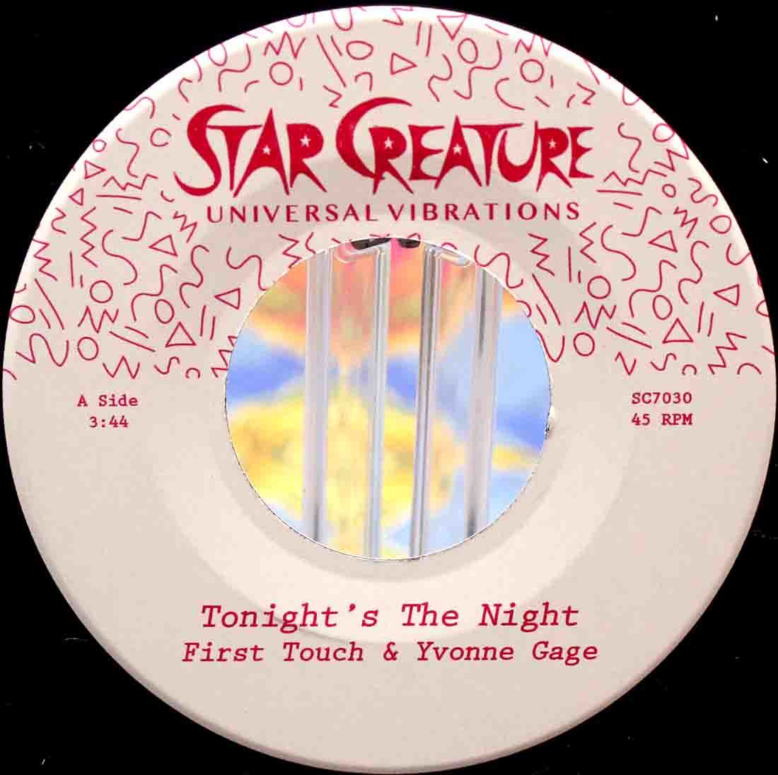 First Touch Yvonne Gage ‎– Tonights The Night 03
