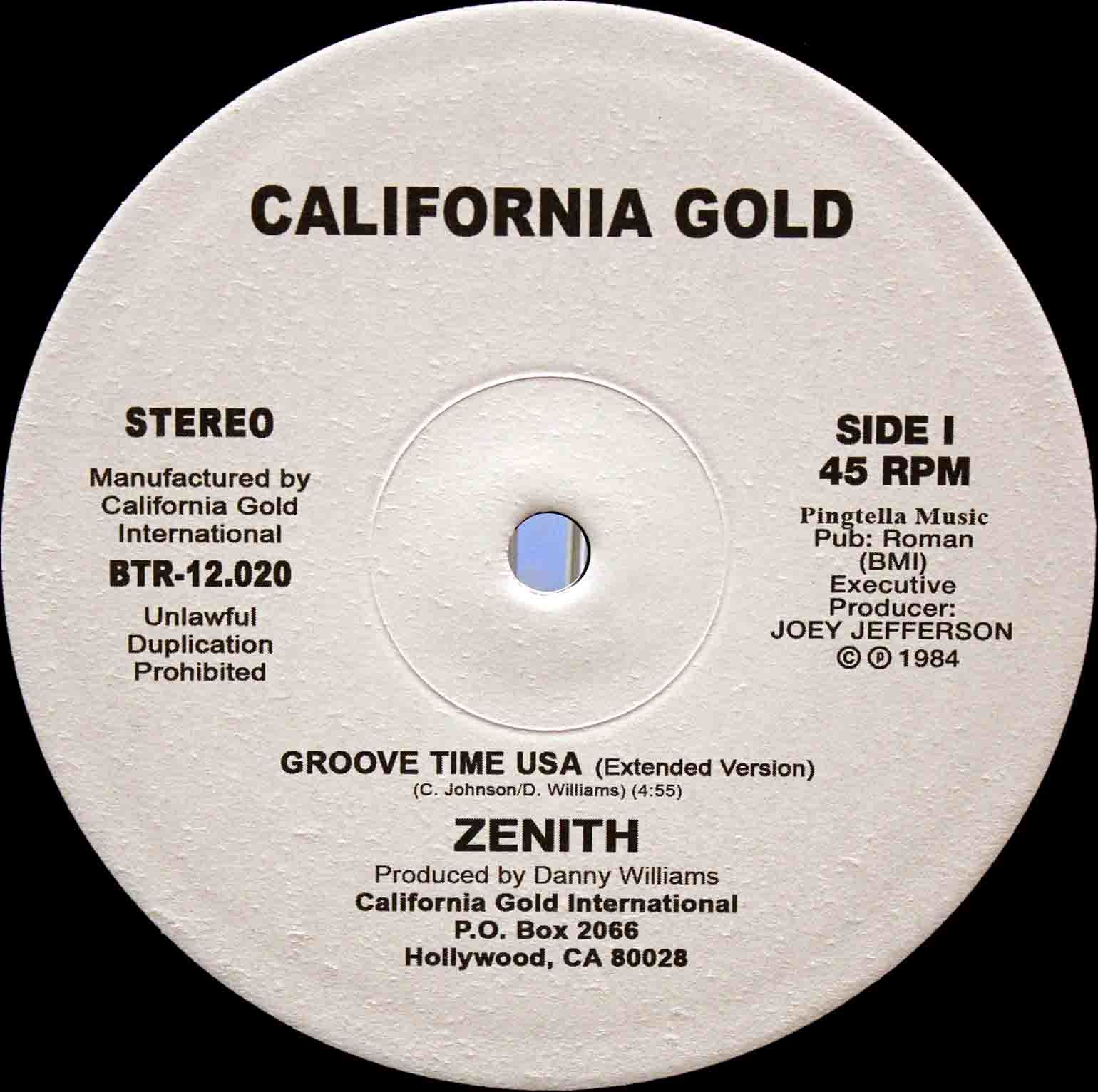 Zenith Groove Time USA 03