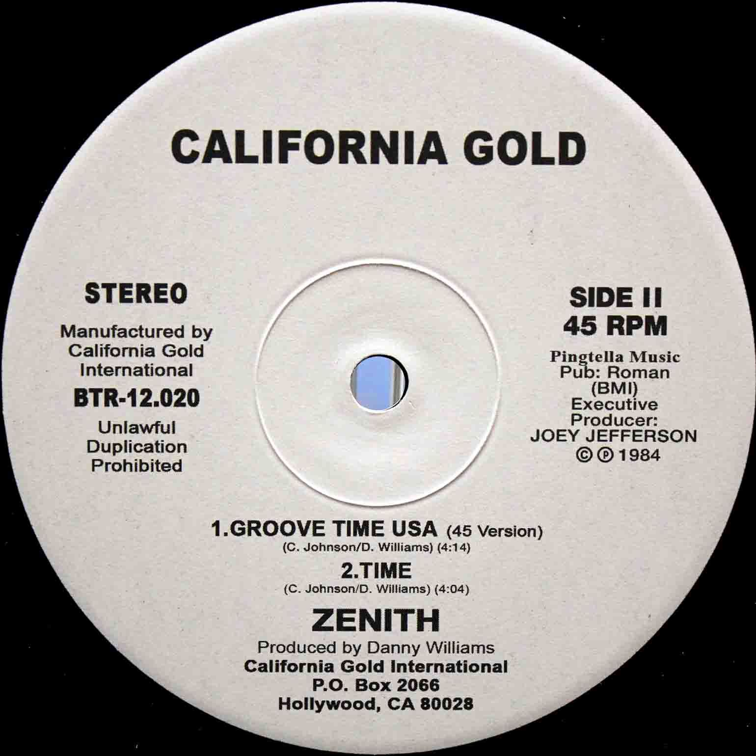 Zenith Groove Time USA 04