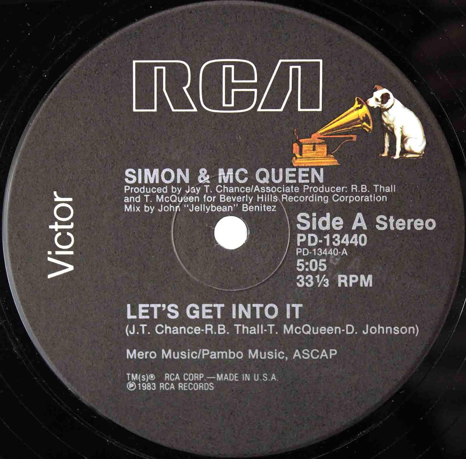 Simon Mc Queen ‎– Lets Get Into It 03