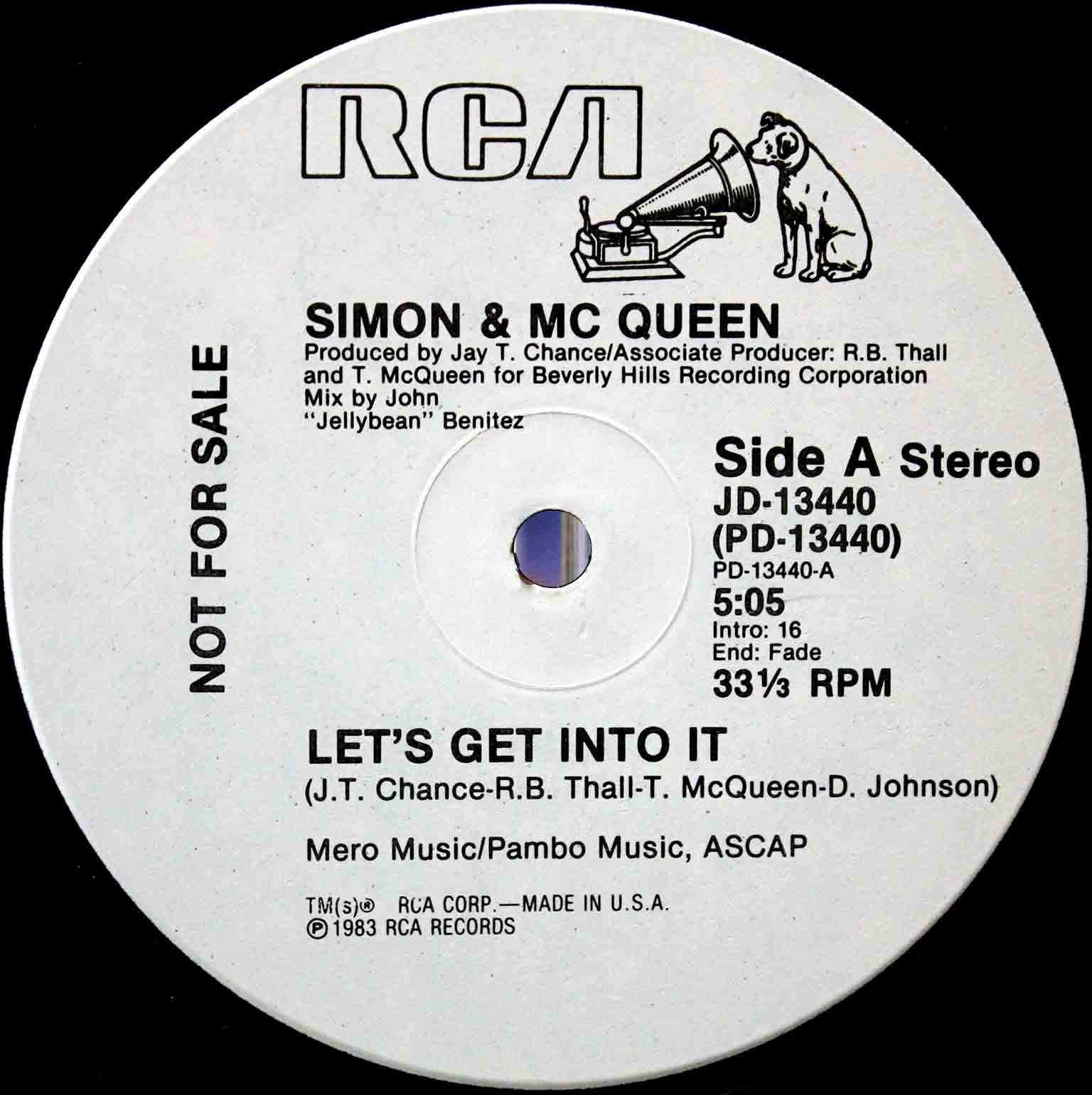 Simon Mc Queen - Lets Get Into It US Promo 02