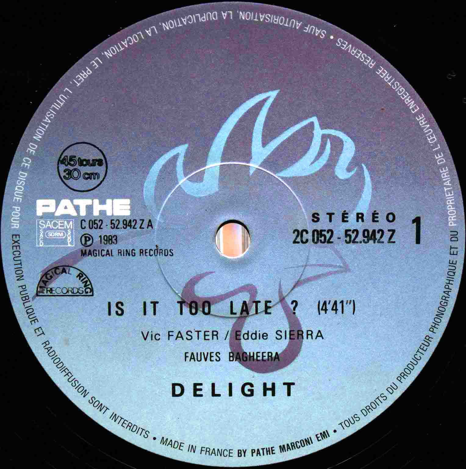 Delight – Is It Too Late 03