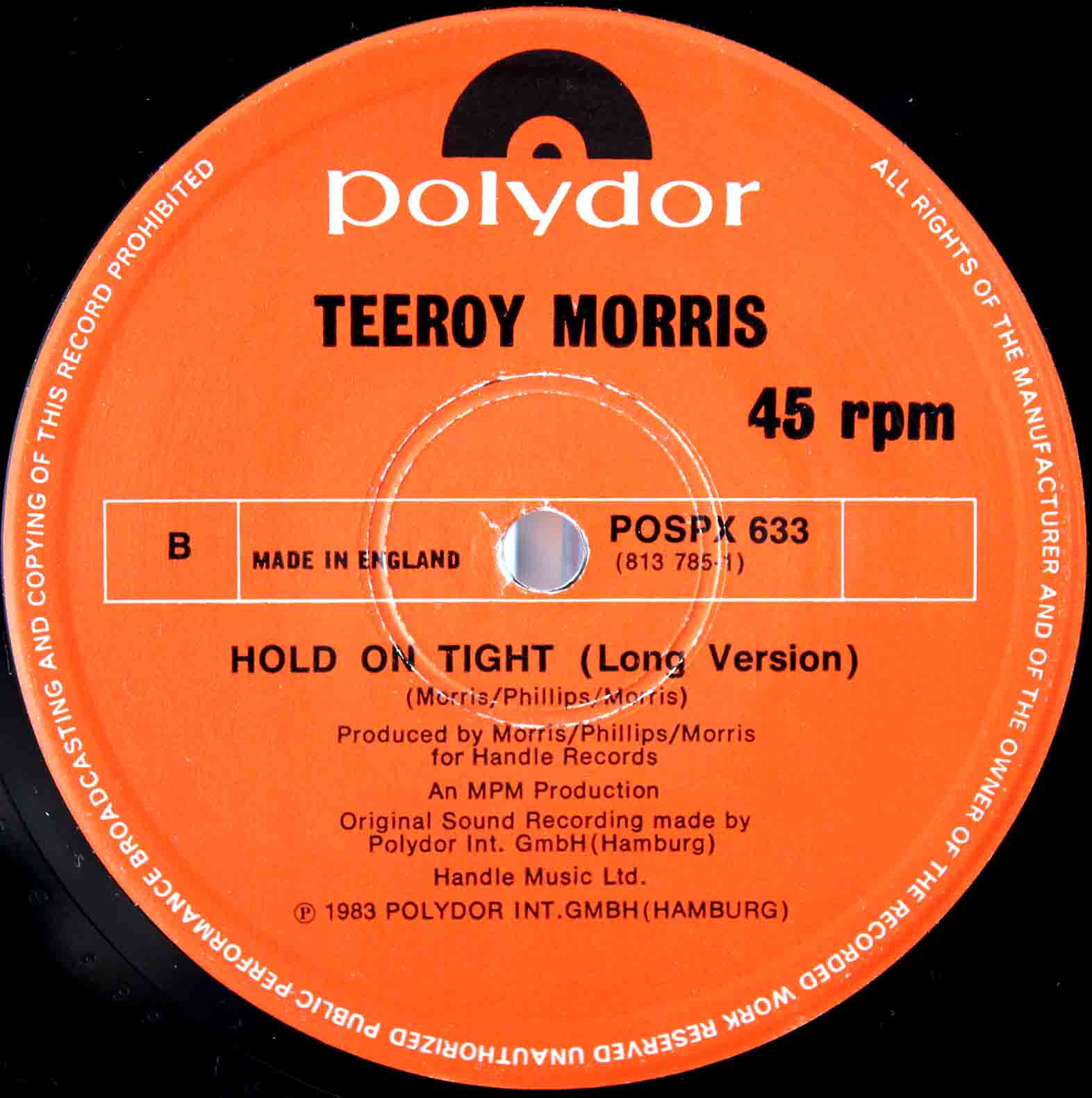 Tee Roy Morris - Hold On Tight 03