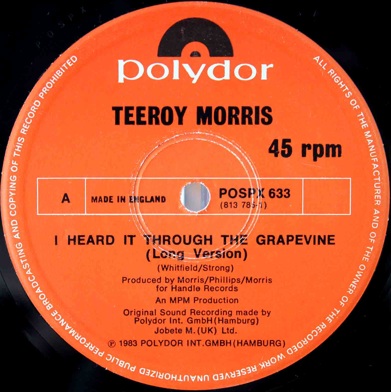 Tee Roy Morris - Hold On Tight 04