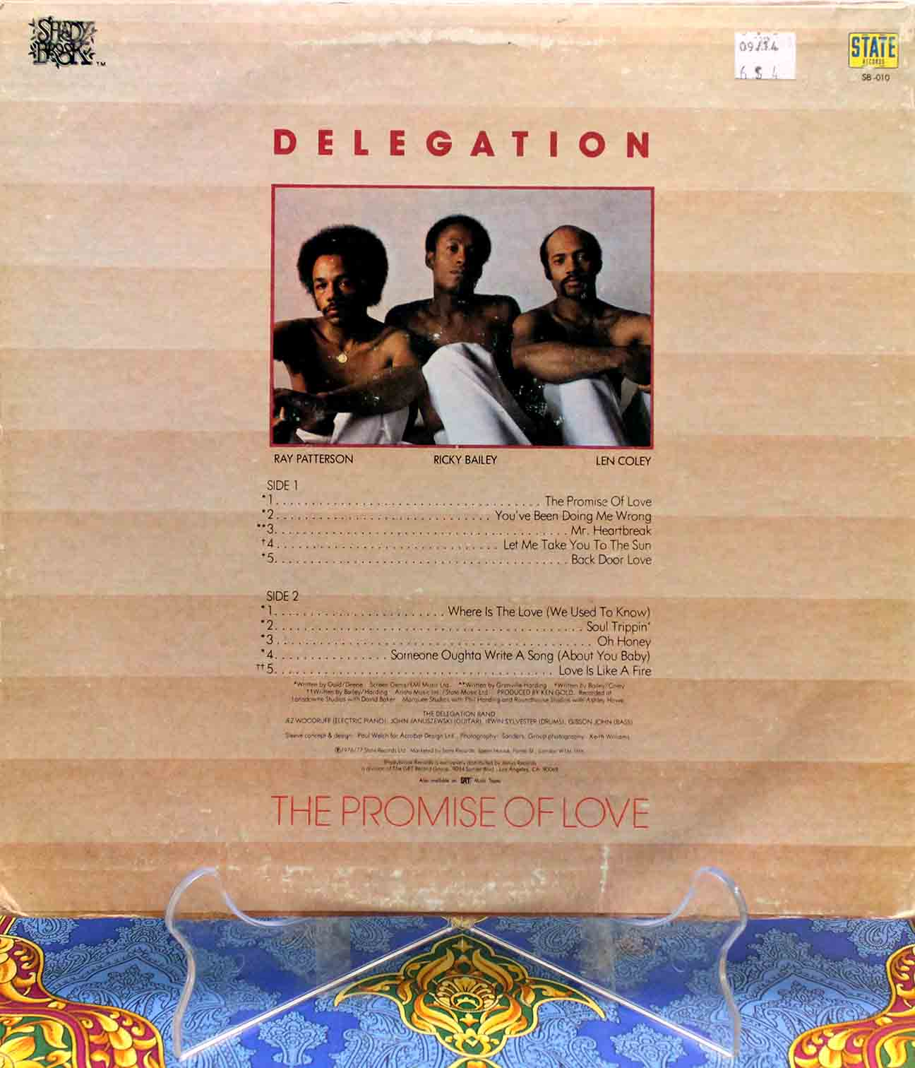 Delegation ‎– The Promise Of Love 02