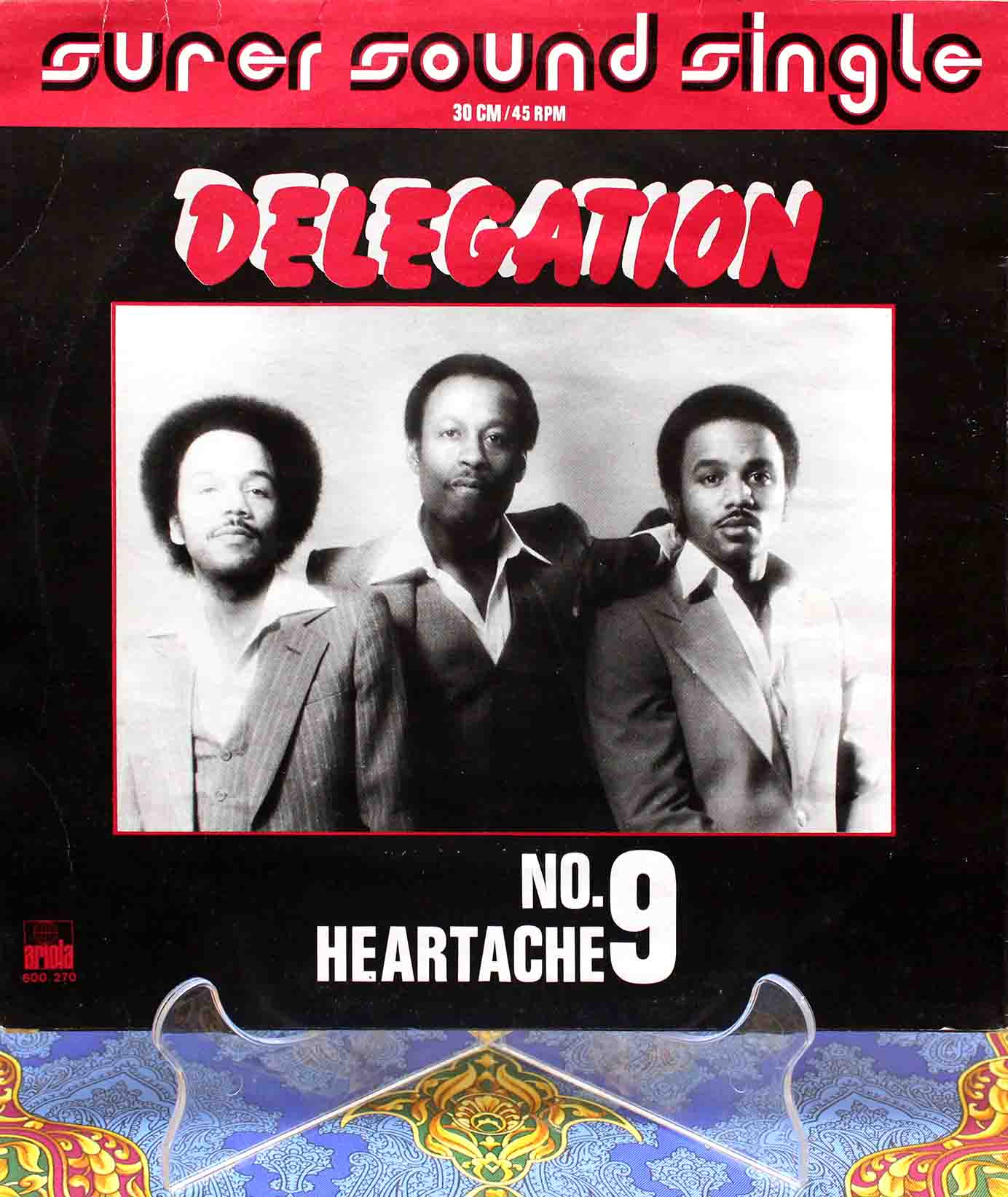 Delegation ‎– Heartache No9 01