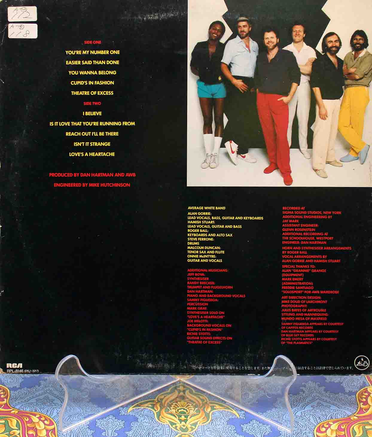 Average White Band ‎– Cupids In Fashion 02
