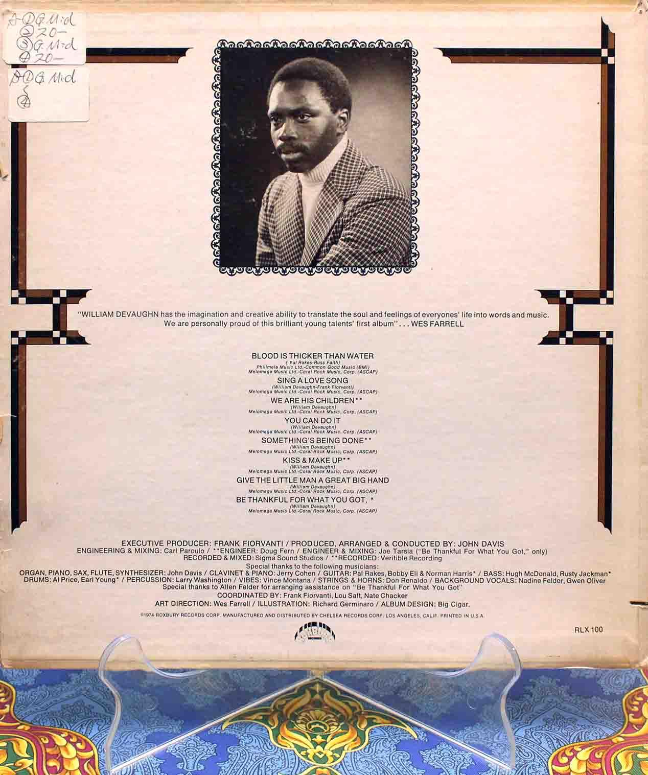 william devaughn LP 02