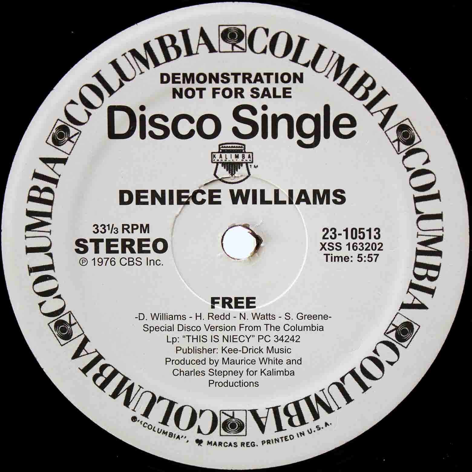 Deniece Williams - Free 05 ブ-ト