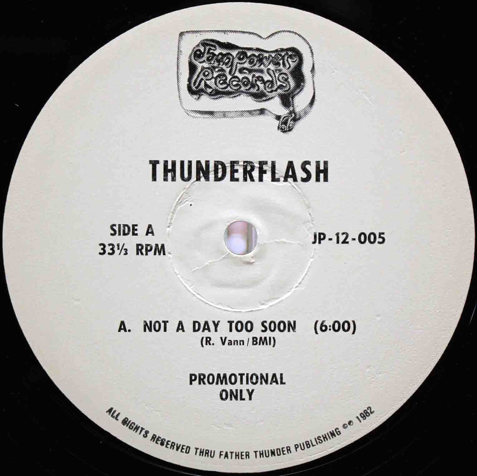 Thunderflash ‎– Not A Day Too Soon 02