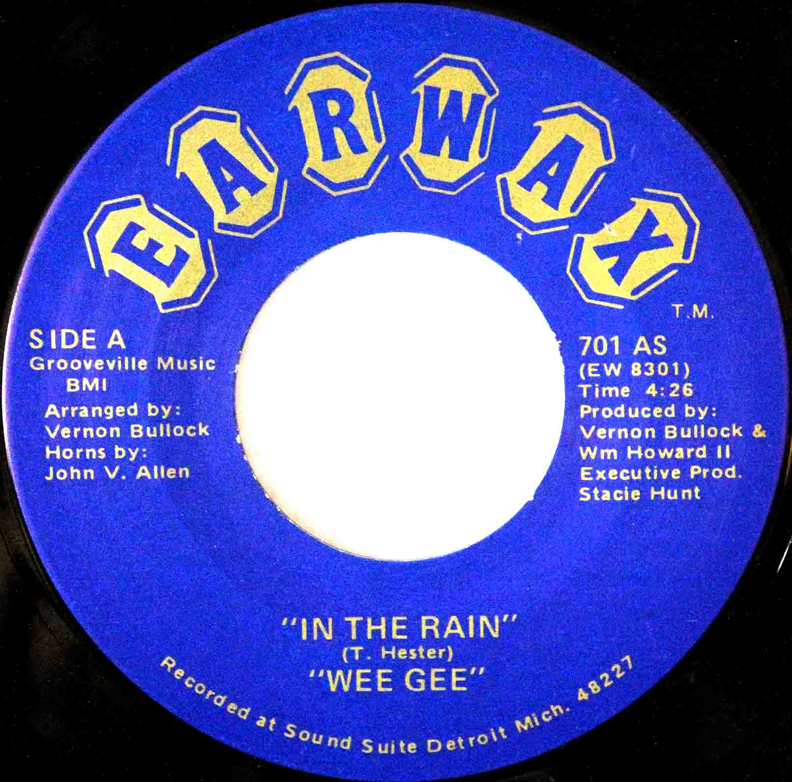 Wee Gee ‎– In The Rain 03