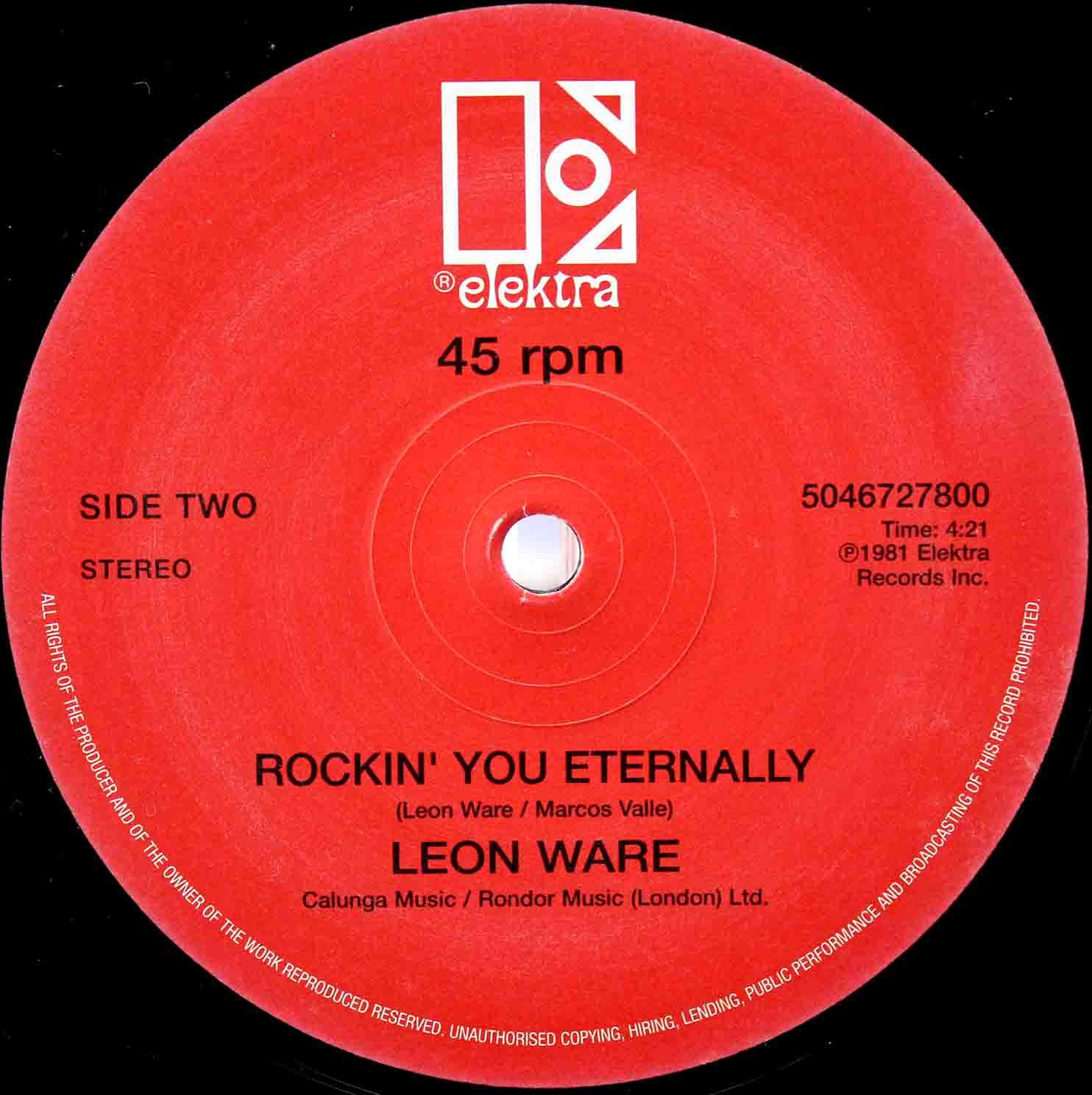 Leon Ware Rockin You Eternally 12 02