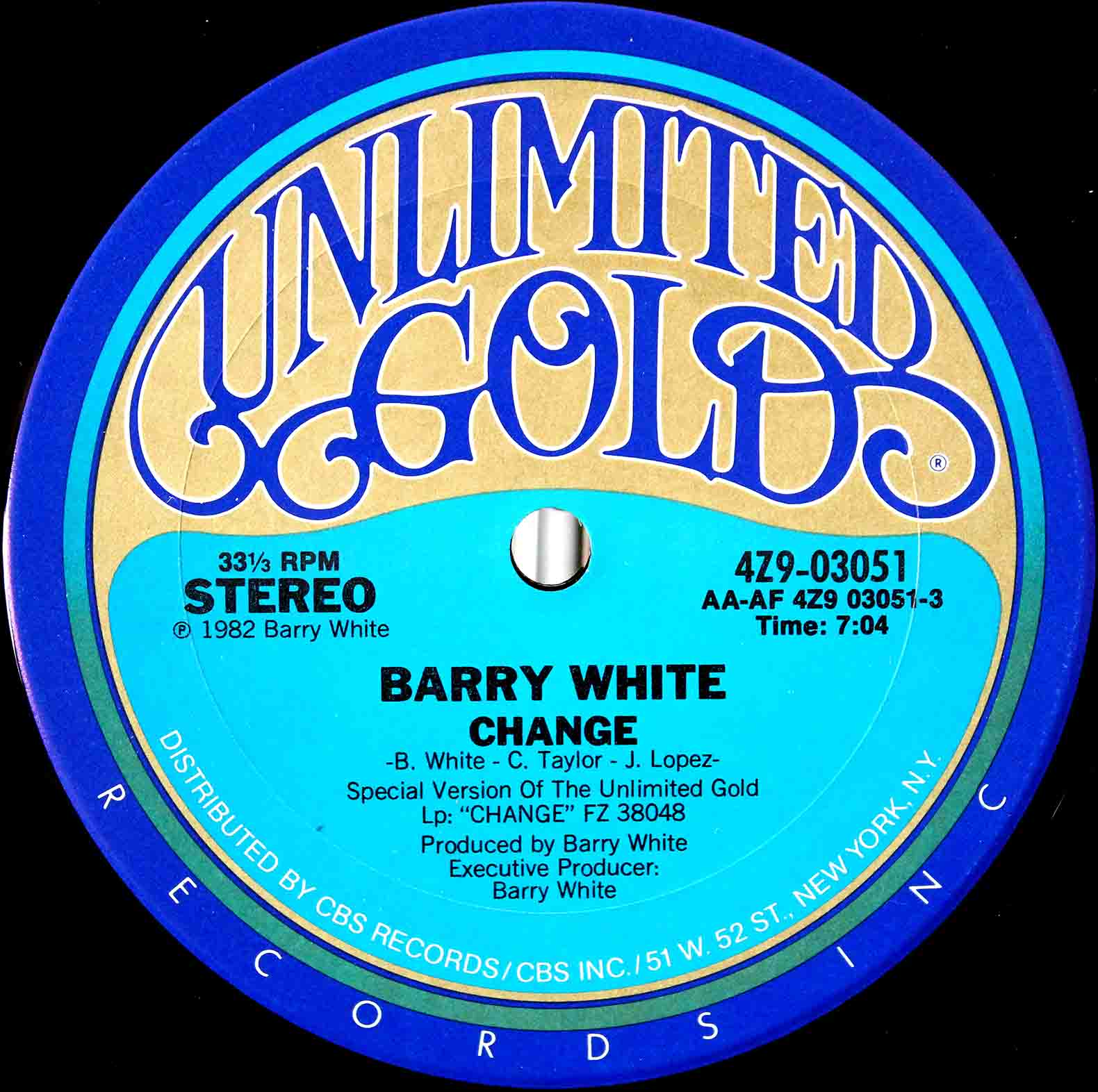 Barry White ‎– Change 03