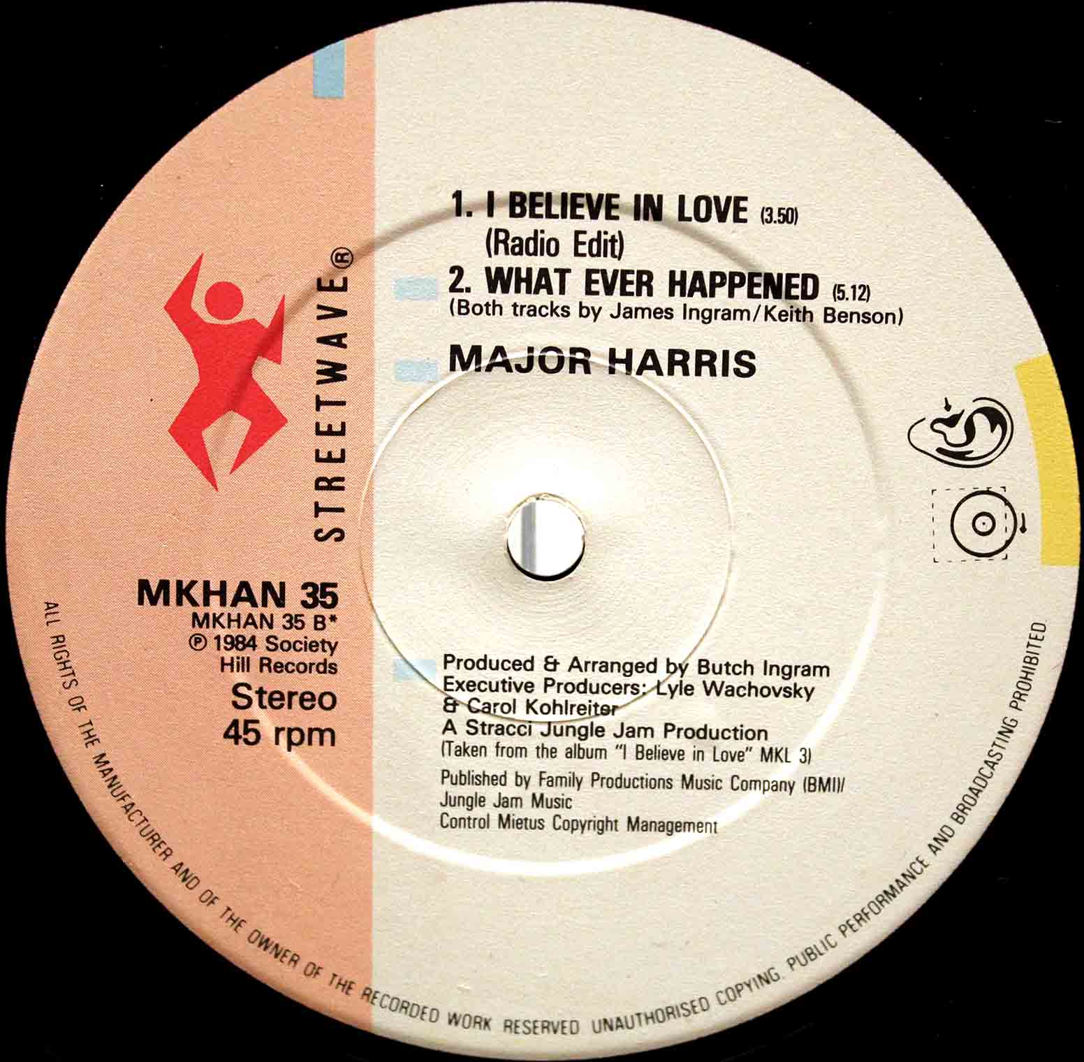Major Harris ‎– I Believe In Love 04