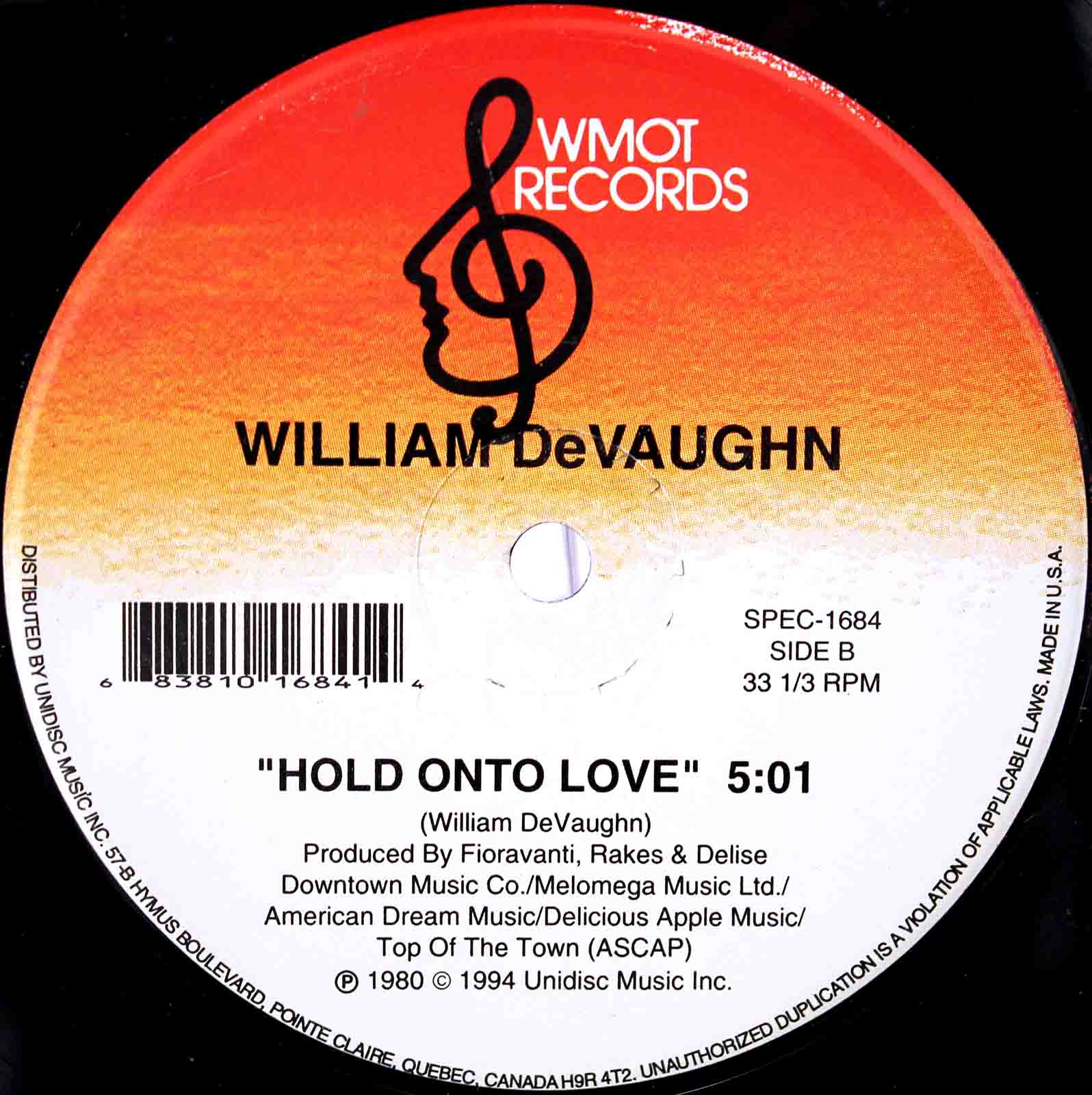 william devaughn hold on 04