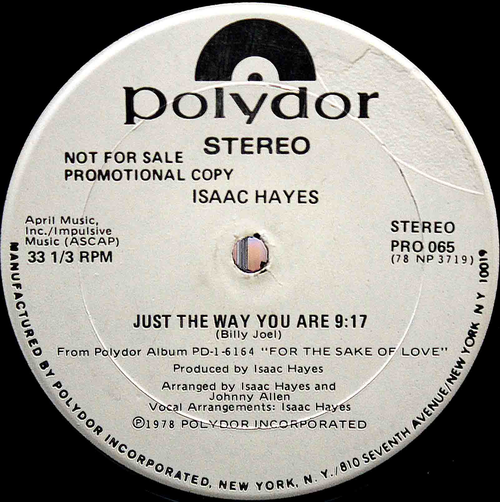 Isaac Hayes – Just The Way You Are 03