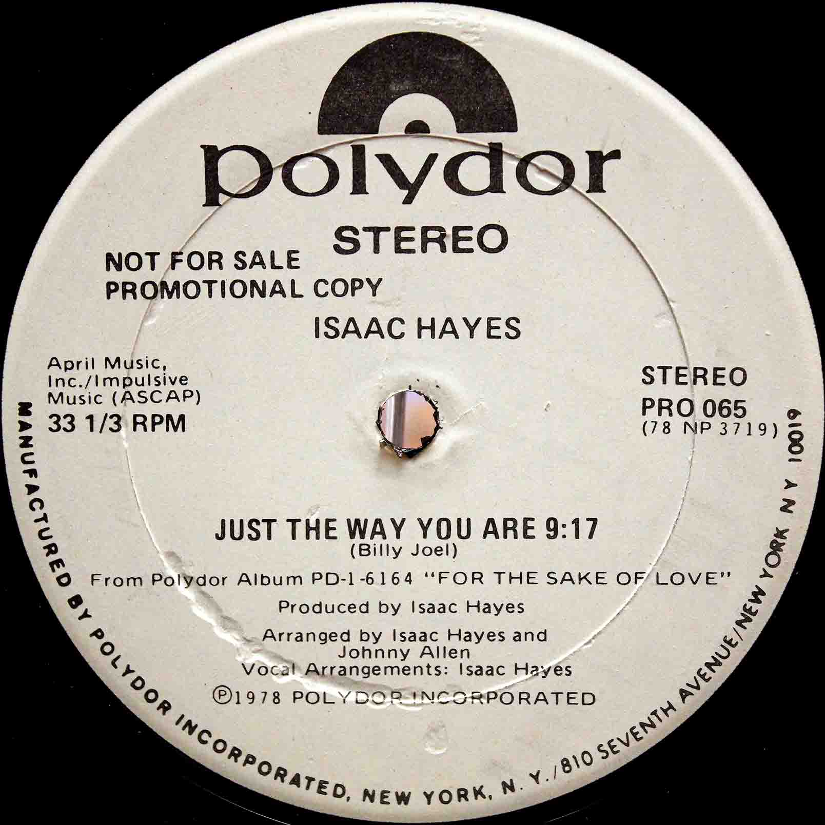 Isaac Hayes – Just The Way You Are 04