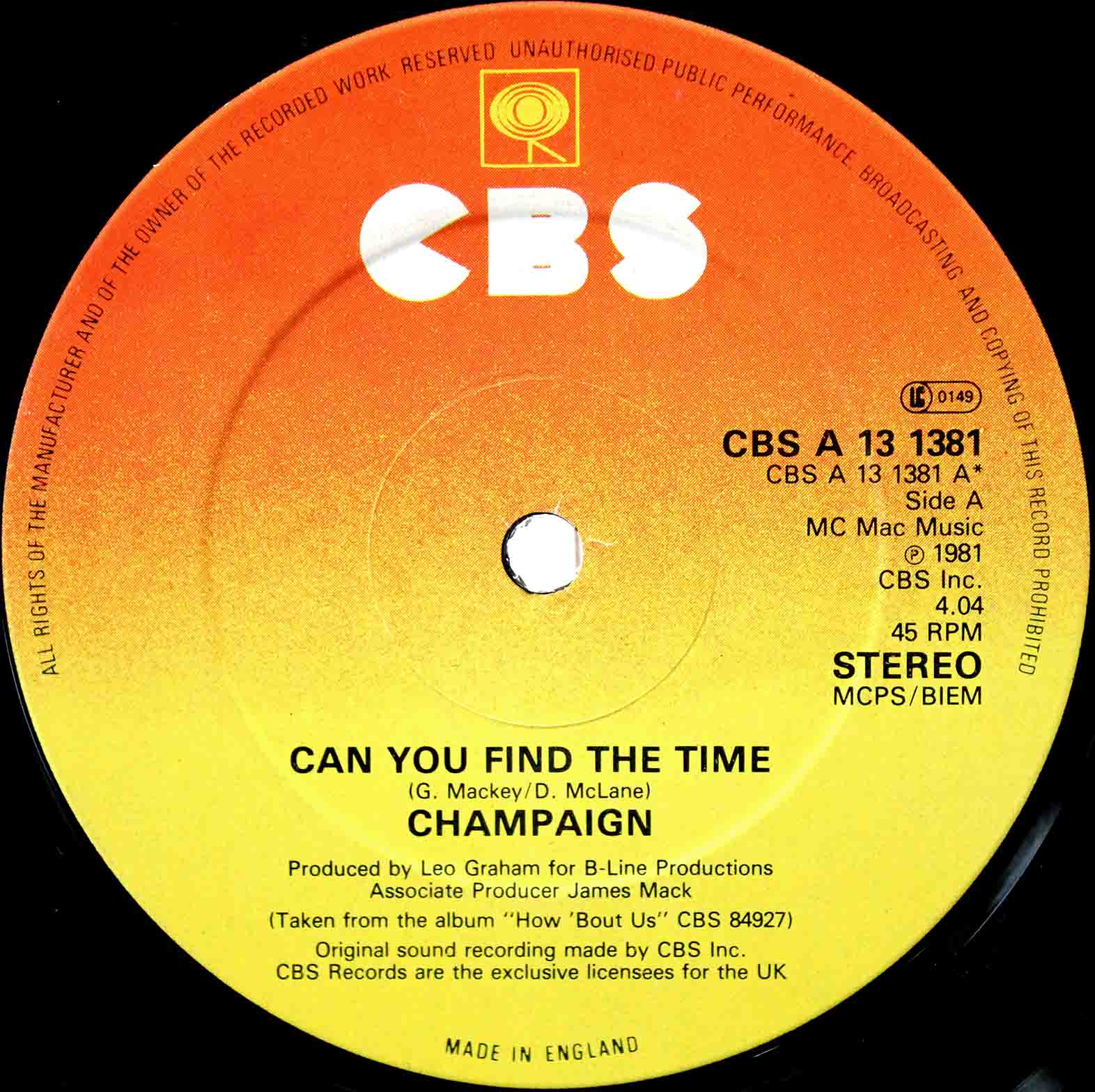 Champaign – Can You Find The Time 03