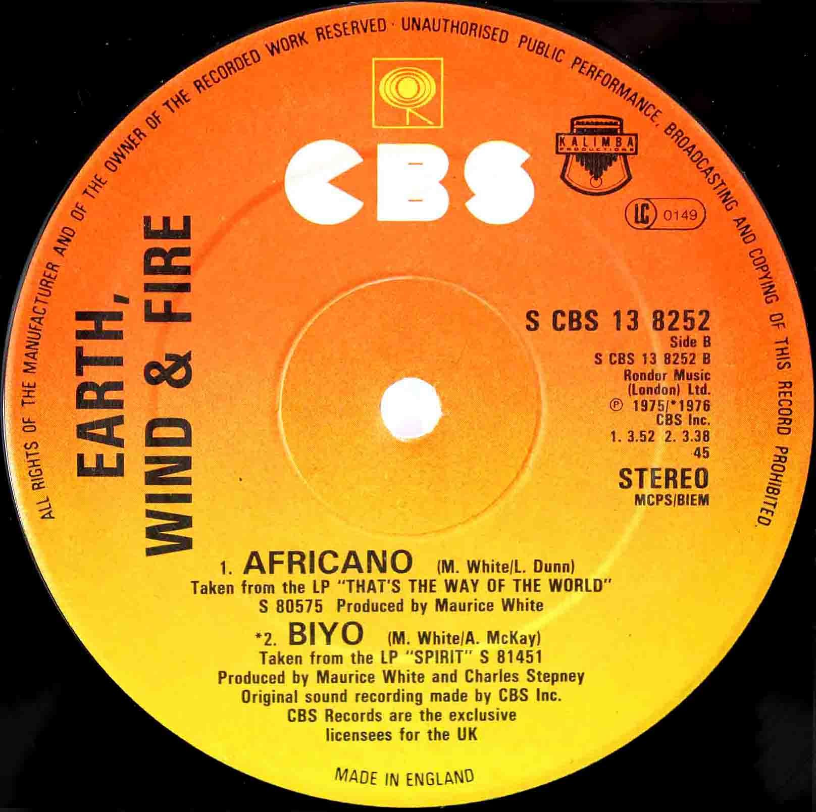 Earth Wind Fire Africano 02