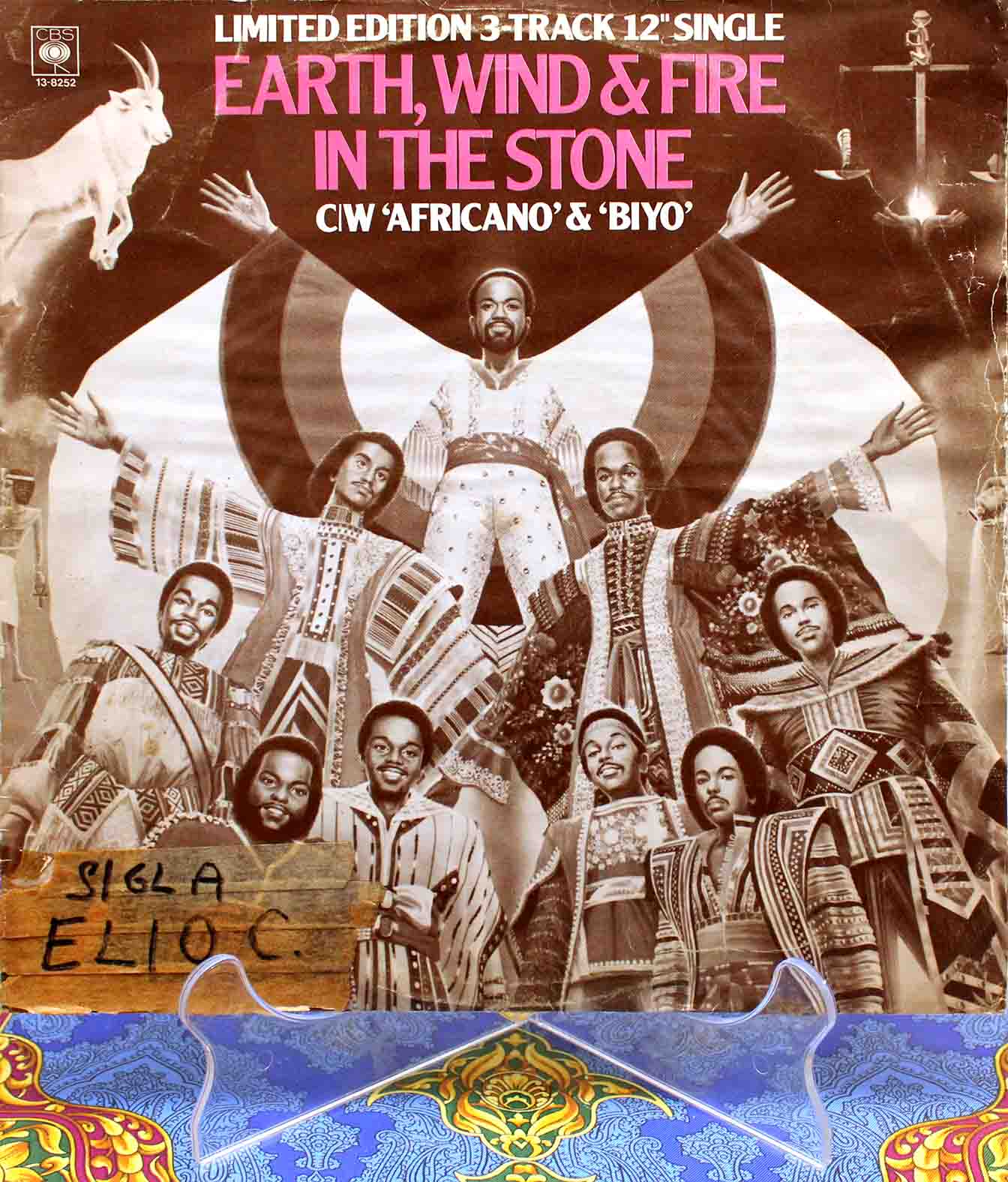 Earth, Wind Fire ‎– In The Stone 01