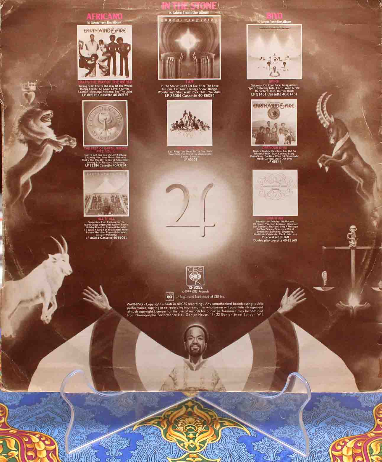 Earth, Wind Fire ‎– In The Stone 02