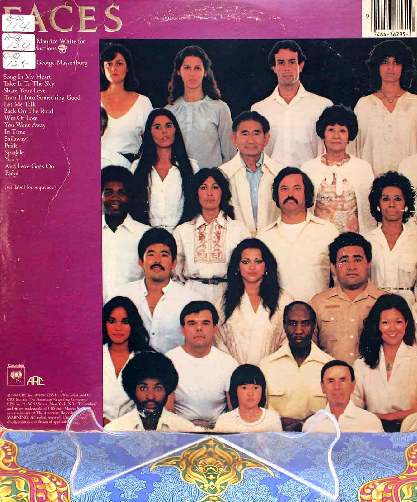 Earth, Wind Fire – Faces 02