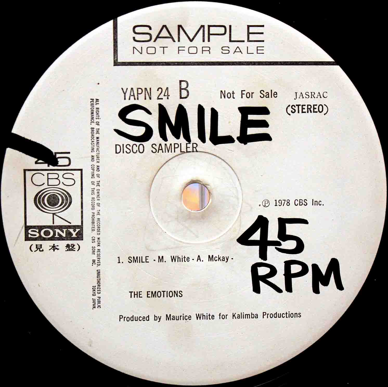The Emotions ‎– Smile 02
