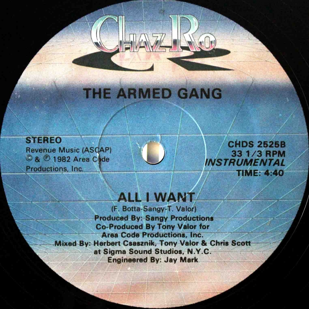 Armed Gang ‎– All I Want 04