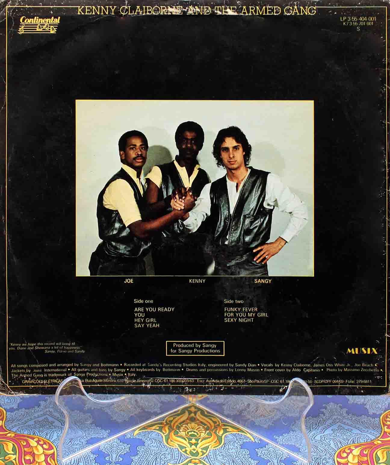 Armed Gang – The Armed Gang LP 02