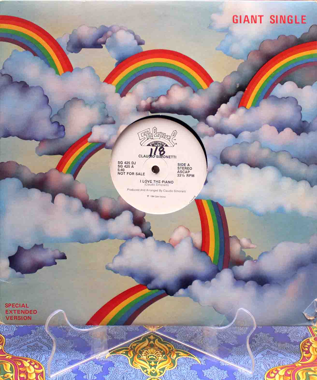 Claudio Simonetti – I Love The Piano US 01