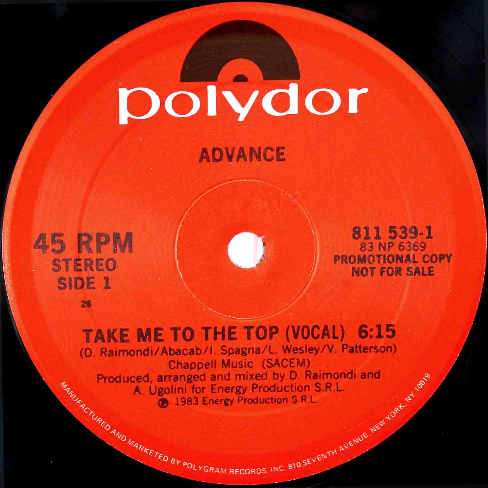 Advance – Take Me To The Top 03