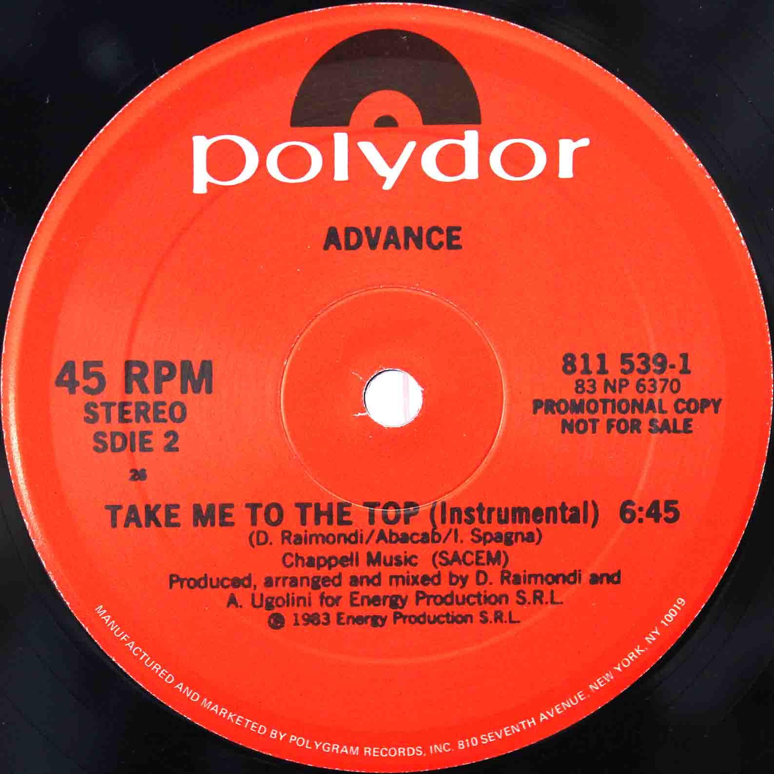 Advance – Take Me To The Top 04