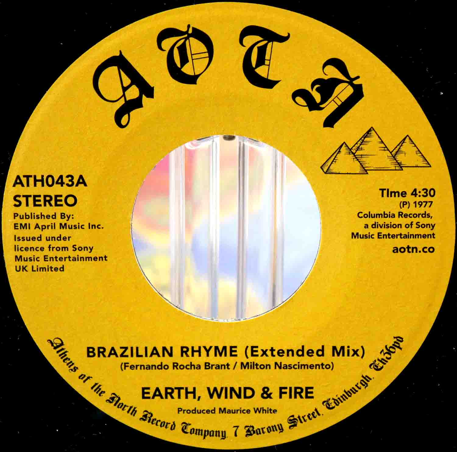 Earth, Wind Fire ‎– Brazilian Rhyme 01