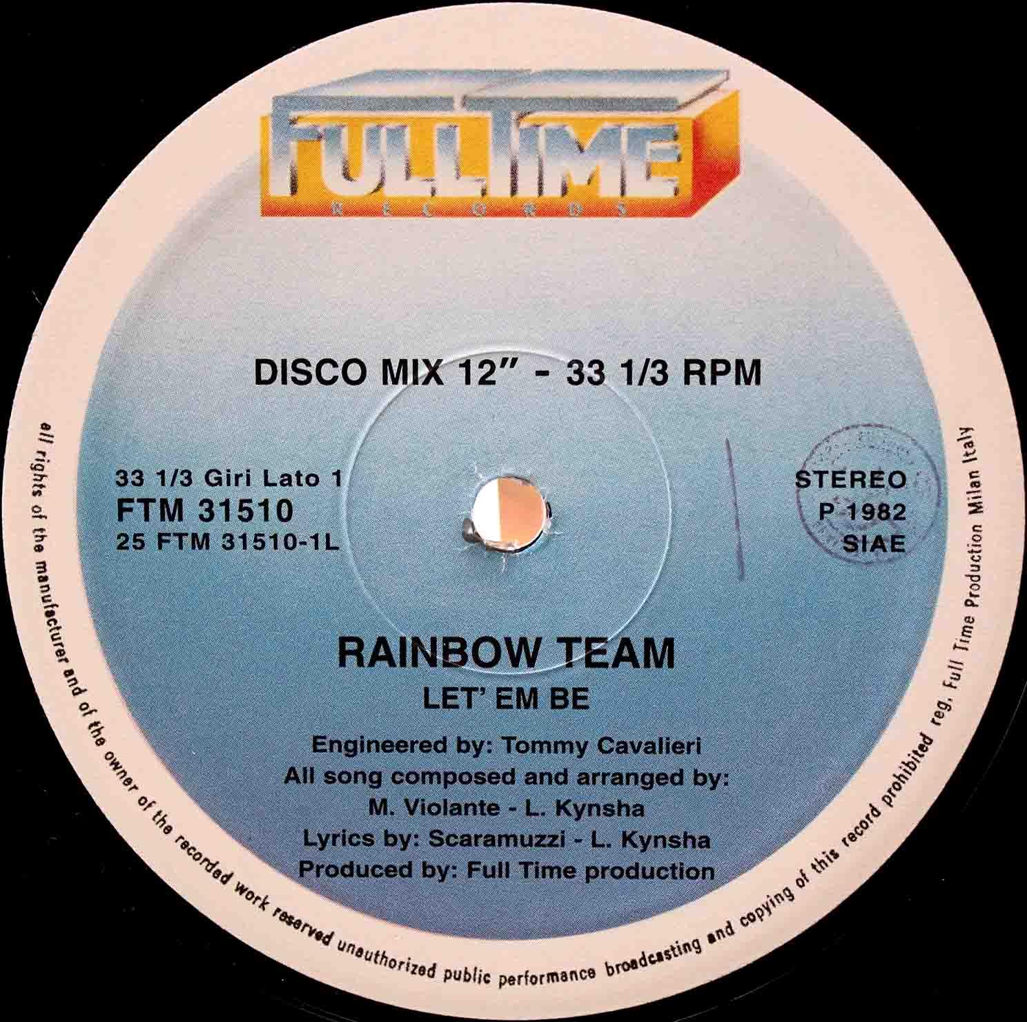 Rainbow Team – Let Em Be 02