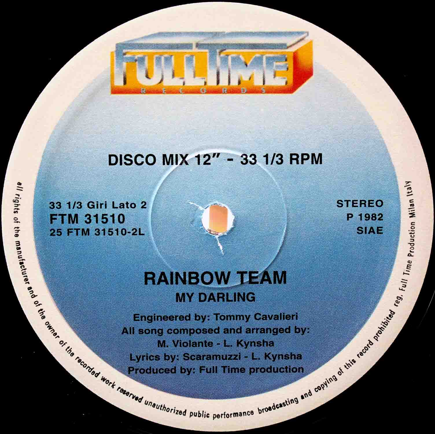 Rainbow Team – My Darling 02