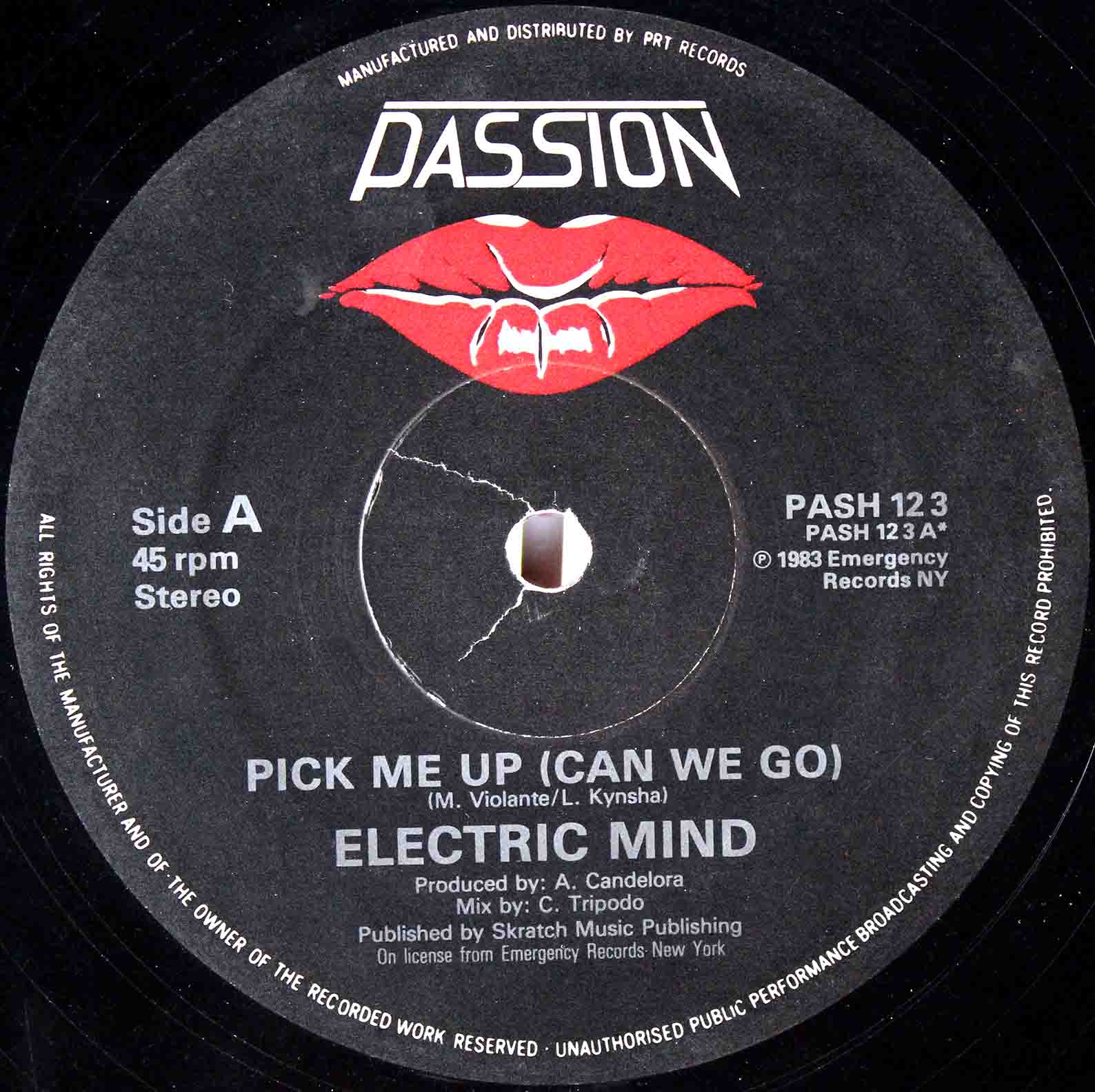 Electric Mind (1983) - Pick Me Up 08