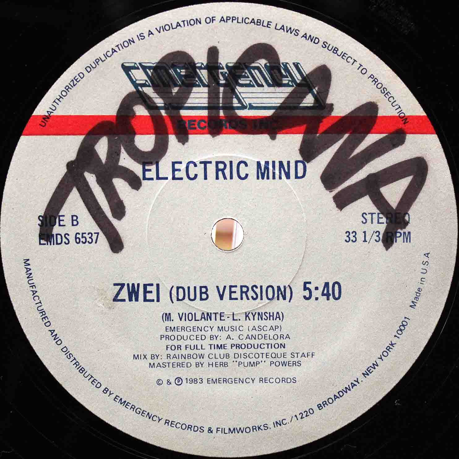 Electric Mind - Pick Me Up US 04