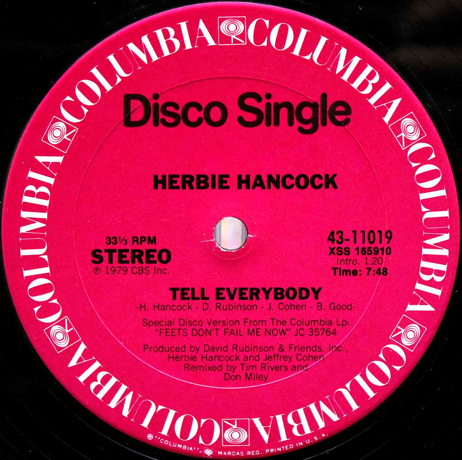 Herbie Hancock – Tell Everybody 03
