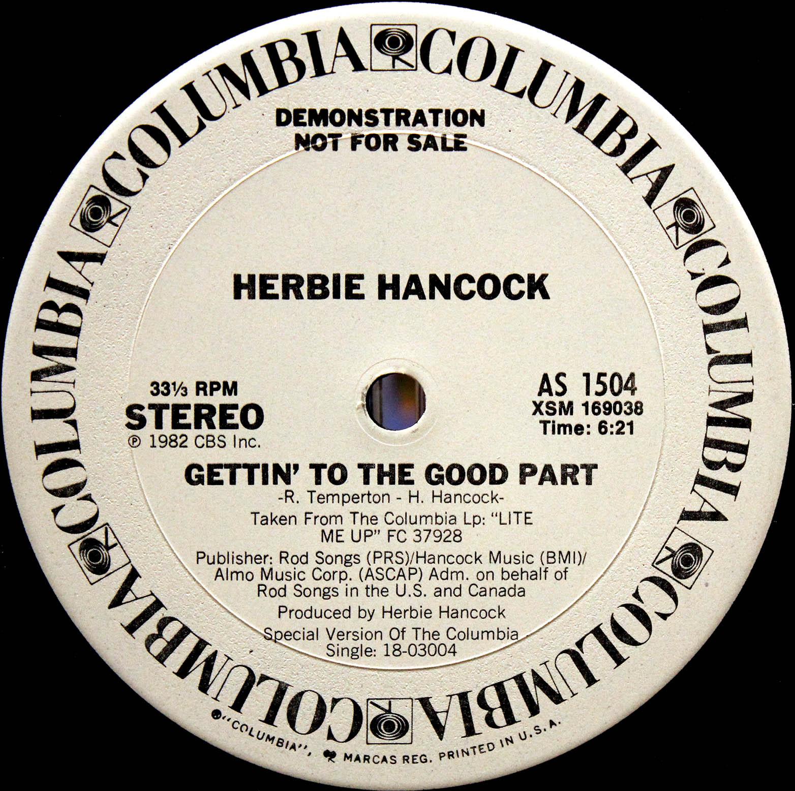 Herbie Hancock – Gettin To The Good Part 03