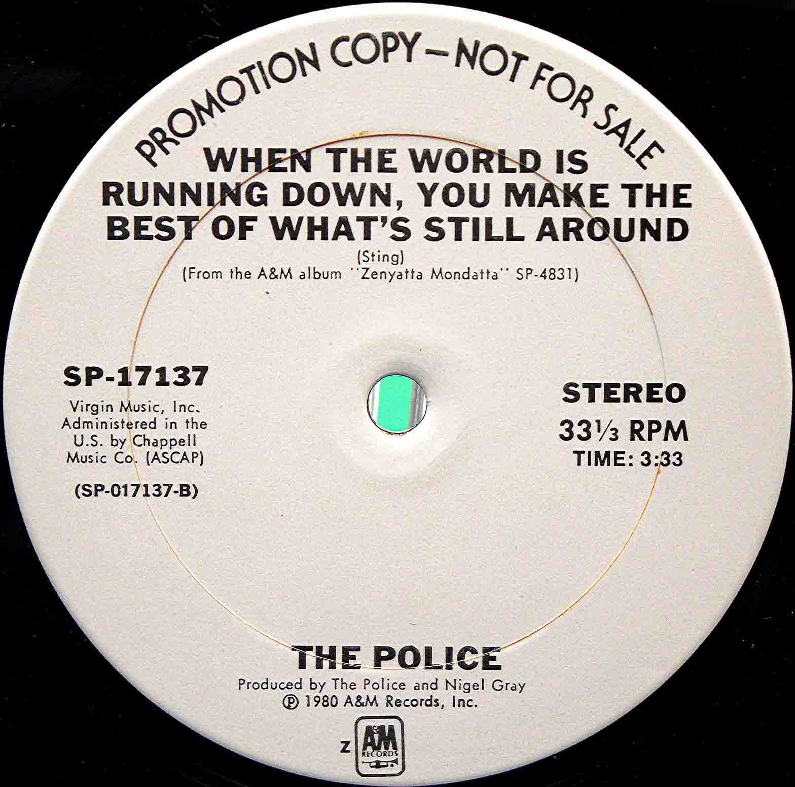 The Police - When the running 02